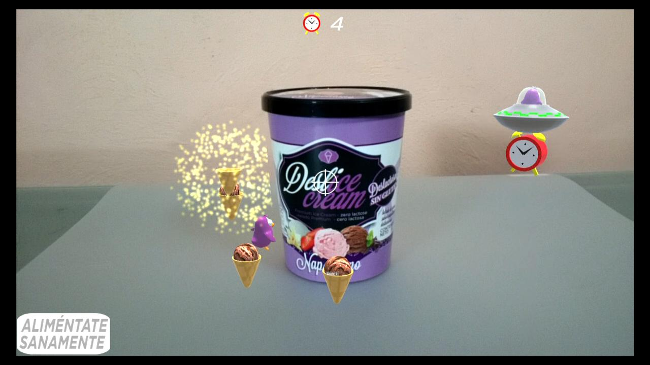 Deslice Cream Tiro al cono[RA]- screenshot