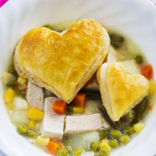 Savory Skinny Chicken Pot Pie Soup