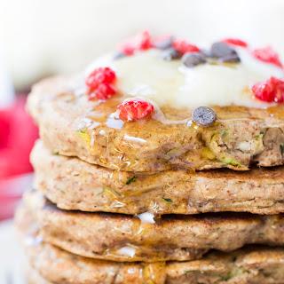 Vegan Quinoa Zucchini Pancakes