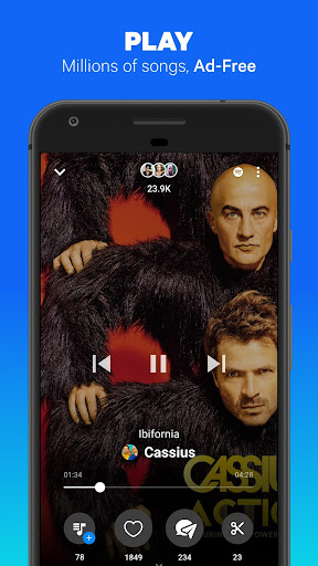Sounds app - Music and Friends screenshot 1