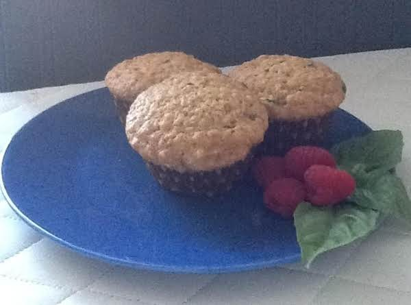Zucchini Oatmeal Muffins