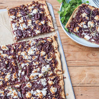Caramelised Onion and Goat Cheese Tart.