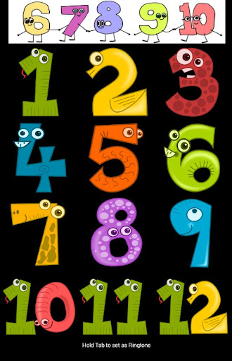 Learn japanese number