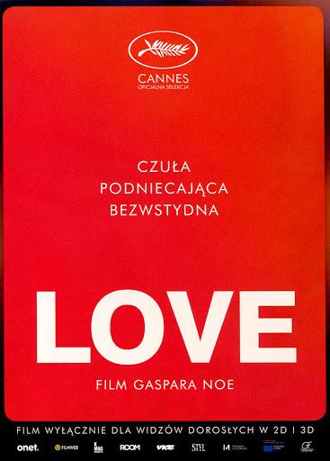 Przód ulotki filmu 'Love'