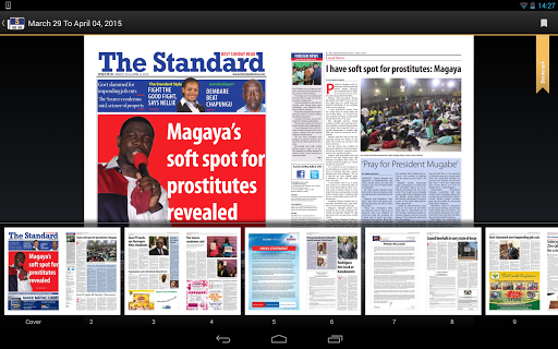 The Standard News Zimbabwe  screenshots 9