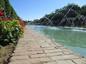 Photo: Alcázar was my favorite spot of the city because of the beautiful landscaping.