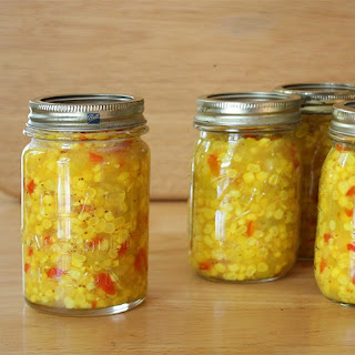 Blue Ribbon Corn Relish - Preserving The Harvest