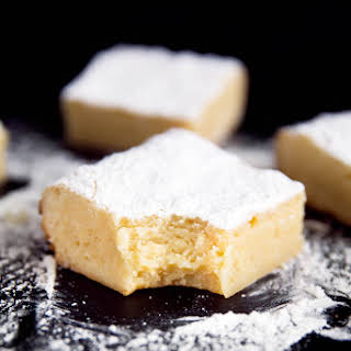 White Chocolate Brownies.
