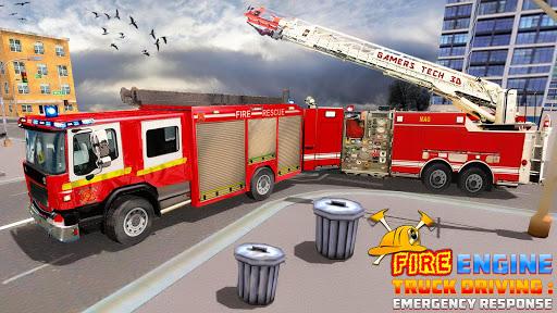 Fire Engine Truck Driving : Emergency Response 1.0.1 screenshots 9