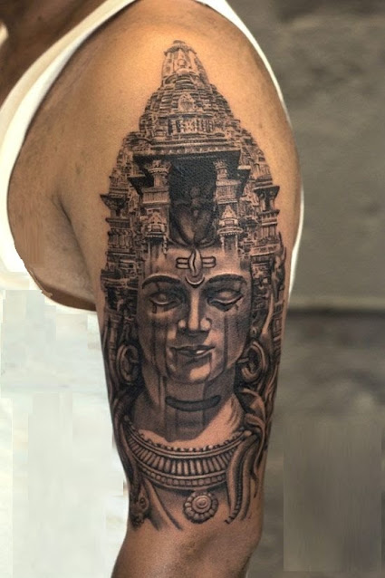 Best shiva tattoos ideas designs