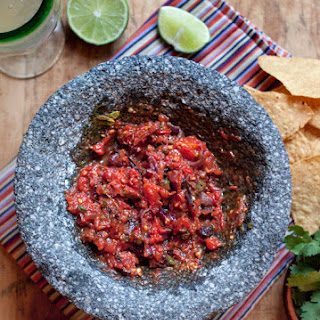 Flaming Heart Roasted Tomato Salsa