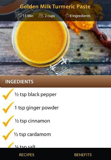 Turmeric Drink Recipes screenshot 21