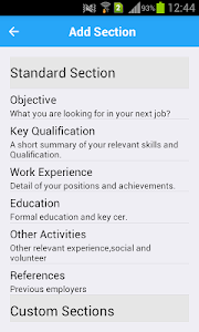 Resume Expert screenshot 4