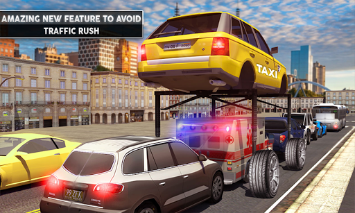 Rush Hour Taxi Cab Driver: NY City Cab Taxi Game 1.4 screenshots 3
