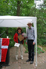 Photo: Henny Verner modtager Fællesrådets Pris