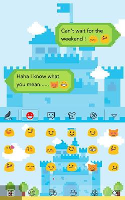 Pixel game for HiTap Keyboard - screenshot