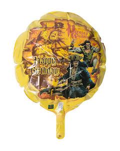 Folieballong, pirates of the caribbean