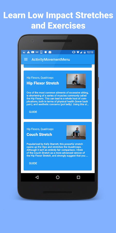 Postrainer - Posture Exercises- screenshot