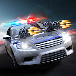 Road Riot Police Chase Icon