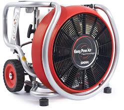 Photo: Ventilátor se spalovacím motorem MT 240