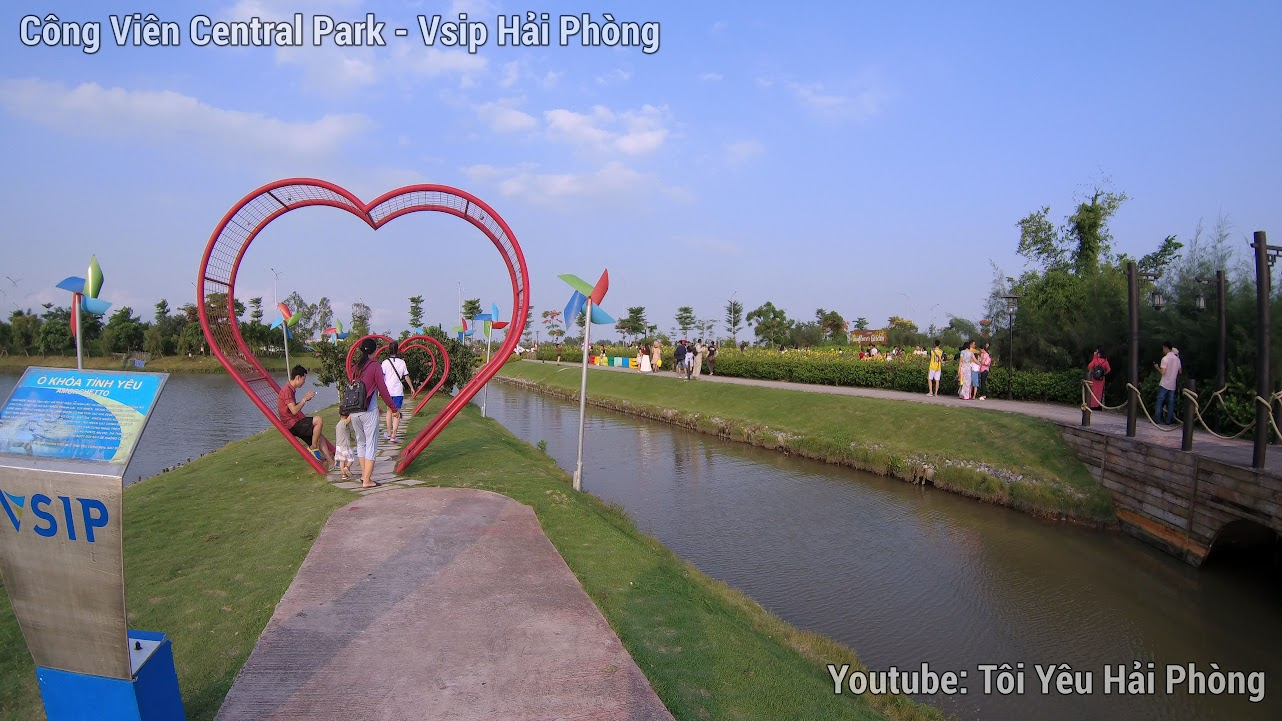 Vườn hoa Hướng Dương - Central Park Vsip Hải Phòng 9
