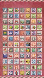 Postage Stamp TSF Shell Theme v1.0.0