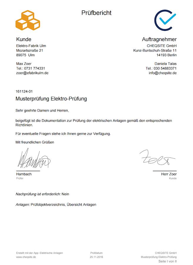 Magnificent Musterprüfung Checkliste Vorlage Collection ...
