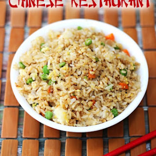 Chinese Restaurant Fried Rice