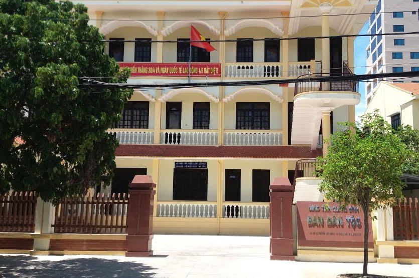 Trụ sở Ban Dân tộc tỉnh Quảng Bình