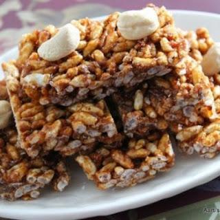 Puffed Rice Bars Recipe