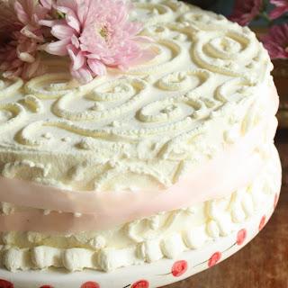 AN ICE CREAM BIRTHDAY CAKE.