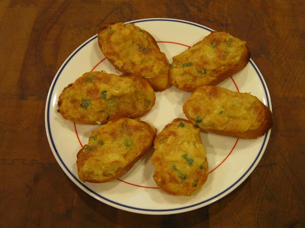 Deviled Crab (or Clams) Puffs Recipe