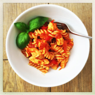 Chicken Pasta With Red Sauce Recipes