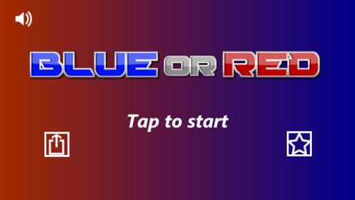 無料动作AppのBlue or Red. 激ムズ無料暇つぶしアクションゲーム|HotApp4Game
