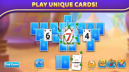 Puzzle Solitaire - Tripeaks Escape with Friends 12.0.0 screenshots 4