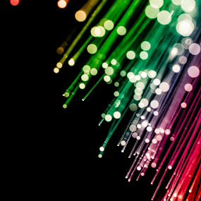 Rays of light by Idan Presser - Abstract Patterns ( fiber optics, flash, pwclines, bokeh, light )