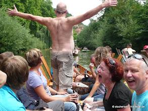 """Photo: Das Resultat vieler Stocherkahnfahrten ... """"Ohne Worte""""!"""