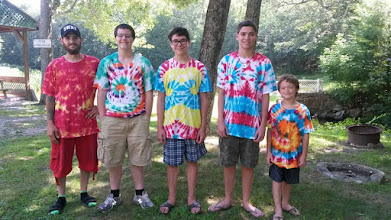 Photo: Family Tie Dye