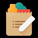 Cinnamon Grocery Shopping List icon