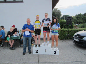 Photo: WU17 1. Jamie-Ann Sterenborg 2. Sabrina Otterbein 3. Lorella-Melina D´Ecclesiua