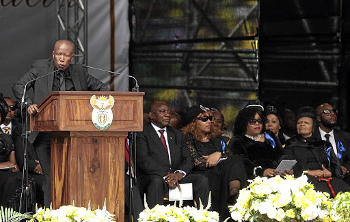 Julius Malema had called for airport to be named after Winnie Madikizela-Mandela.
