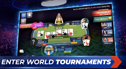 Poker Legends: Free Texas Holdem Poker Tournaments ss2