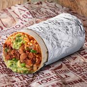 Vegan Chilli No Carne Burrito (VG)