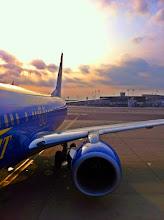 Photo: Aerosvit Airlines leaving Tel Aviv.