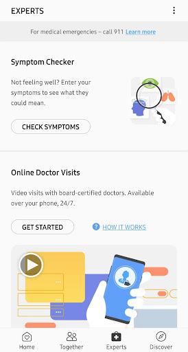 Samsung Health screenshot