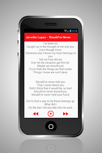 Jennifer Lopez Mp3 Lyrics screenshot 2