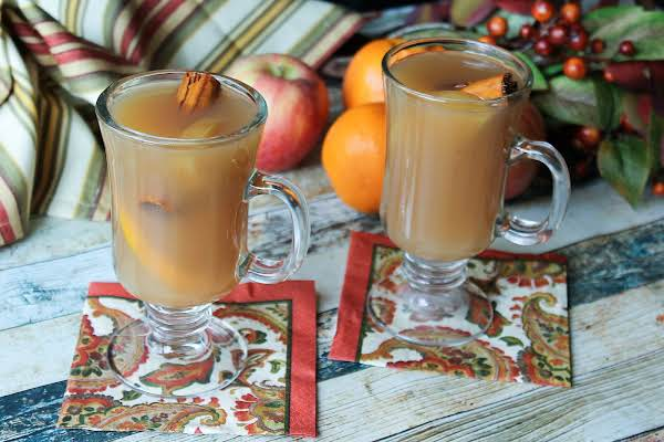 Holiday Spiced Cider Recipe