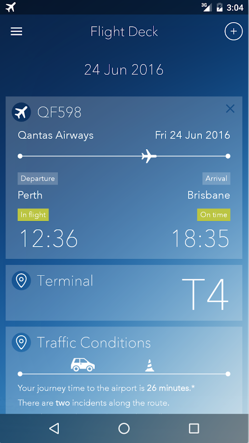 Perth Airport- screenshot