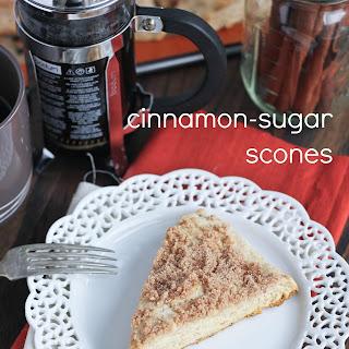 Cinnamon Sugar Scones