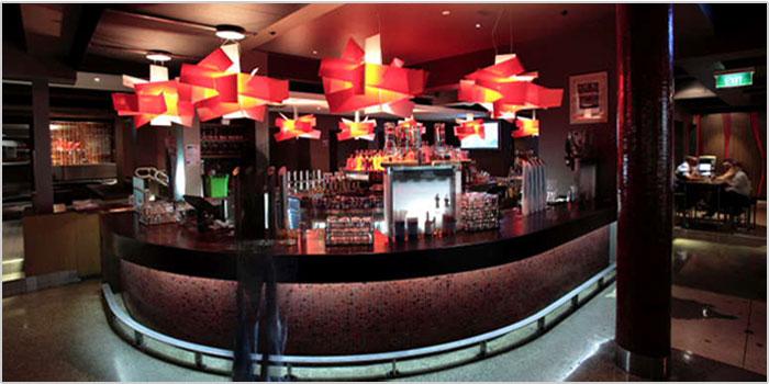 The Corner Bar, part of Fringebar in the Fortitude Valley neighborhood of Brisbane.